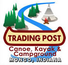 Trading Post Canoe, Kayak & Campground in Mongo, Indiana