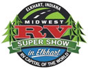 Midwest RV Super Show in Elkhart, Indiana